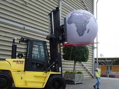 Inflatable Globe Balloon Exhibition