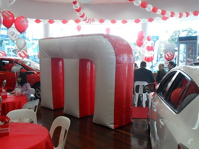 Mazda Inflatable M promotion