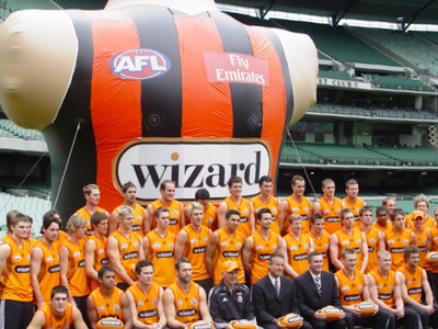 Afl Inflatable Giant Jersey