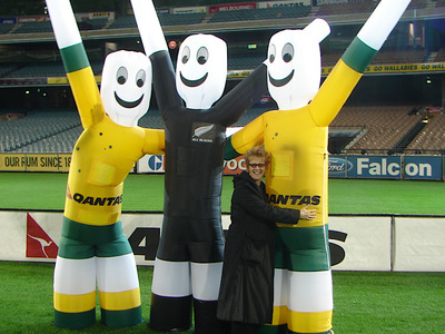 Inflatable Dancer Costumes Wallabies All Blacks