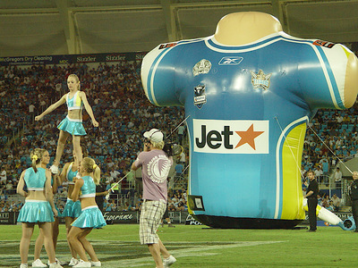 Titans Giant Inflatable Jersey