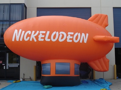 Nickelodeon Inflatable blimp